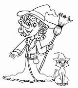Witch Coloring Pages Printable Halloween Witches Sheets Scary Sheet Scarlet Drawing Cool2bkids Head Pretty Enchantress Suicide Squad Template Getdrawings Getcolorings sketch template