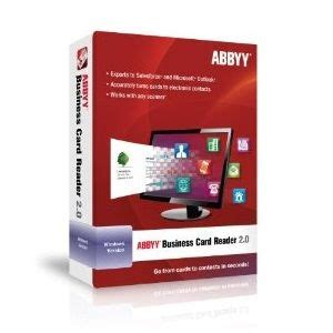 abbyy business card reader  images document