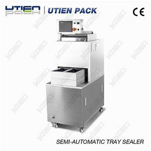 China Manual Tray Sealer For Modified Atmosphere Fr