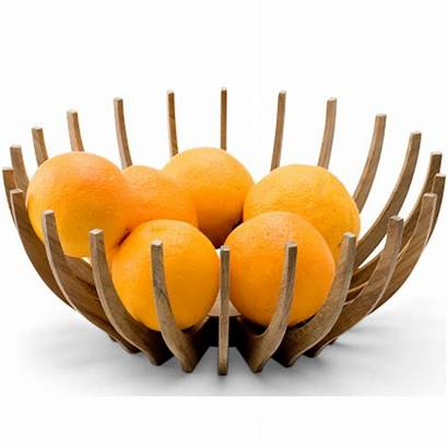 Fruit Bowl Wooden Contemporary Wood Cool Designs