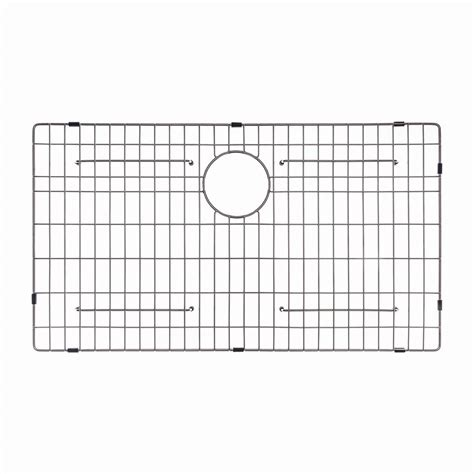stainless steel grid for kitchen sink kraus 30 in x 17 in bottom sink grid in stainless steel 9394