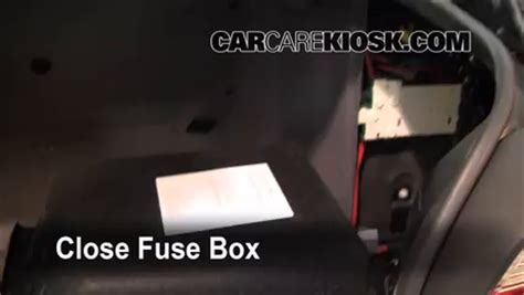 1997 Bmw Fuse Box by Interior Fuse Box Location 1997 2003 Bmw 530i 2002 Bmw