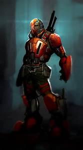 ninja exo suit azerus mecha mech costume sci fi fantasy ...