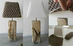 Lampe Chevet Bois Flotté : fabriquer lampe de chevet eq45 jornalagora ~ Teatrodelosmanantiales.com Idées de Décoration