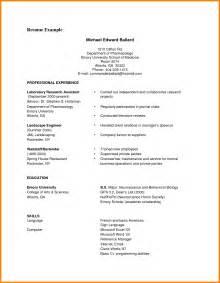 job resume exles pdf free 9 resume cv sle pdf job bid template