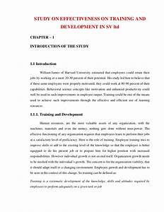 sample research proposal on training and development With research and development plan template