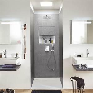 Niche De Douche : b ti support de douche pr t poser en angle ou en niche ~ Premium-room.com Idées de Décoration