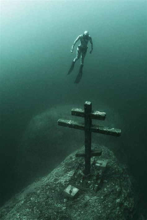 baikal lake  cross andrey sidorov underwater world