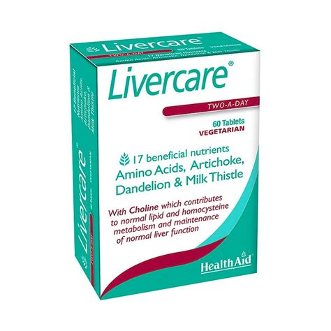 livercare tablets healthaid livercare supplements uk