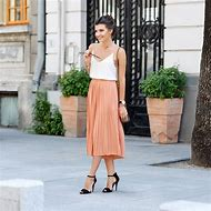 Girl Pleated Skirt Outfit