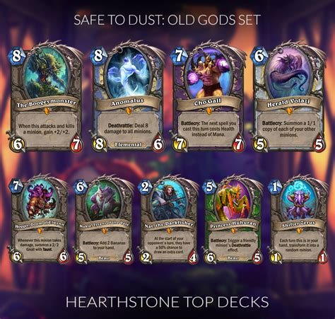 Meta Decks Hearthstone 2017 by 100 Hearthstone Top Decks 2017 Hearthstone Crafting