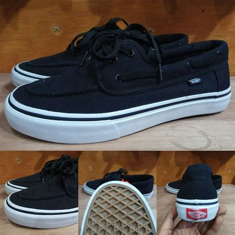Jual Sepatu Vans Zapato jual sepatu vans zapato zapatto japato black white hitam