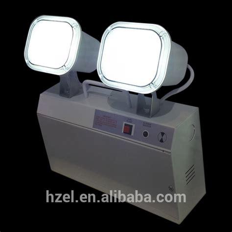 led wall mount two spot emergency lighting led