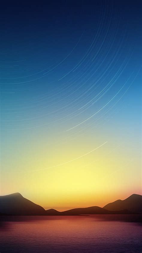 Dusk Sky Sea Iphone 6s Wallpapers Hd