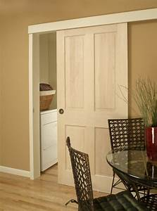 Ingenious Door Sliding System for Saving Valuable Space in