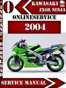 Kawasaki Zx6r Ninja 2004 Digital Service Repair Manual
