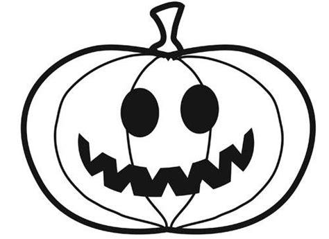 kostenlose malvorlage halloween kleiner kuerbis zum ausmalen