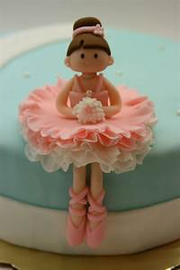 Picture idea for making your own Ballerina Cake Topper ...