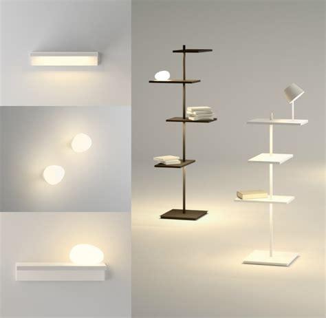 le de chevet chambre adulte luminaire chambre adulte de style minimaliste par vibia