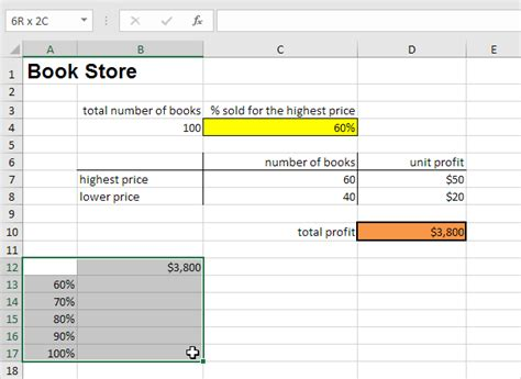 what if analysis data table data tables in excel easy excel tutorial