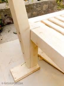 making the custom bed frame raoul pop