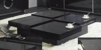 apartment kitchen storage ideas black coffee table chic and modern black coffee