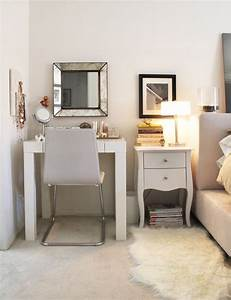 Love, The, Vanity, Right, Next, To, The, Bedside, Table, U0026, Bed