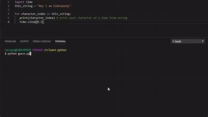 Python String Character Codespeedy