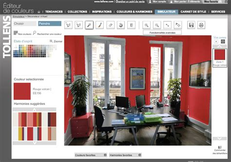 simulateur de cuisine en ligne peindre une pièce un simulateur pour voir ce que ça