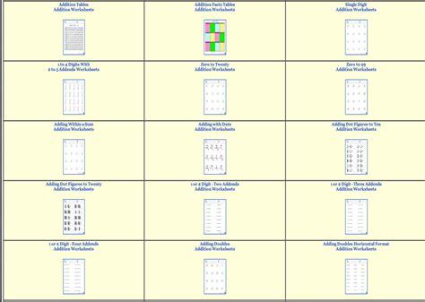 800 free dynamic math worksheets for teachers