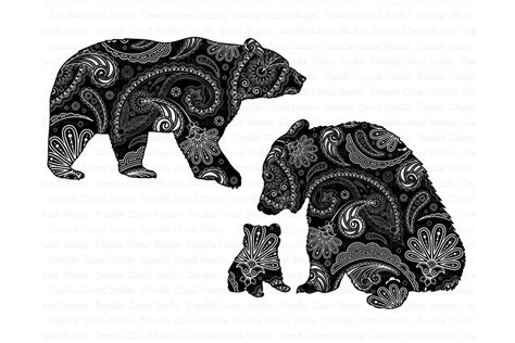 3d tiger mandala svg,tiger layered papercut,tiger svg by svg and 3d paper cut design by goodfox86 available for $2.6 at designbundles.net. Bear Mandala SVG, Mama and Baby Bear SVG. By Doodle Cloud ...