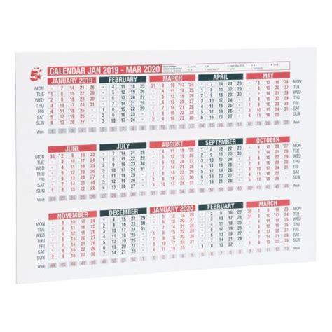 star office diary wall desk calendar