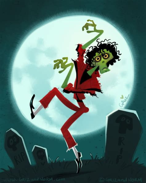 funny cartoon version  mj thriller michael jackson funny michael jackson art michael