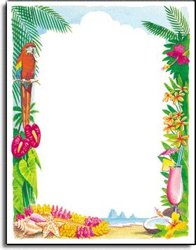 tropical stationery template stationery notecards letterhead stationery papers