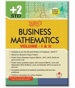 12th Standard Guide Business Mathematics English Medium