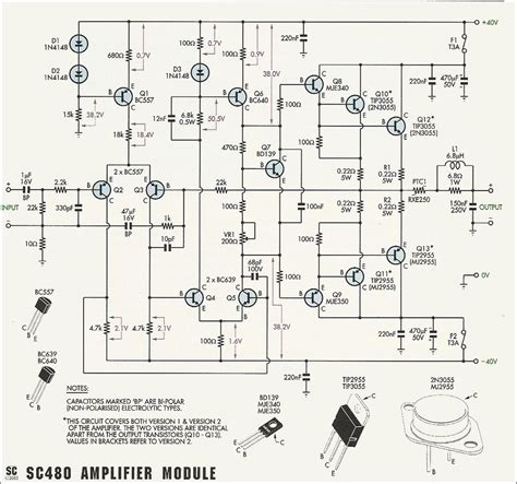 Rms Amplifier Circuit Diagram Images