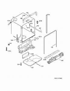 Frigidaire Fpid2497rf1a Dishwasher Parts