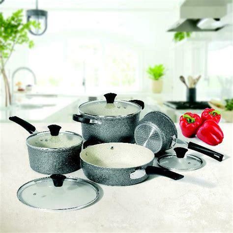 rock  starfrit   star  piece copper cookware set  sale  ebay
