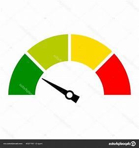 Stock Illustration Speed Meter Web Icon