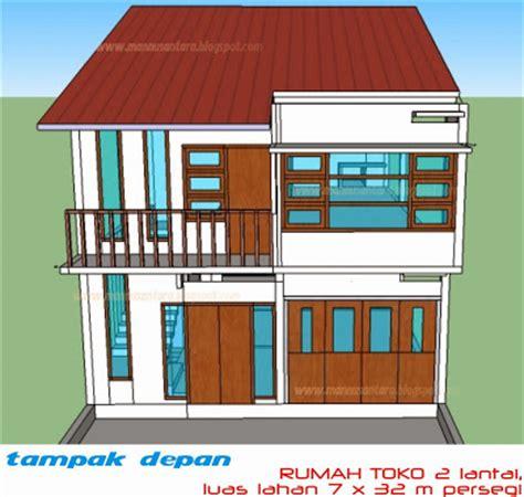 bentuk rumah sederhana desain rumah minimalis sederhana