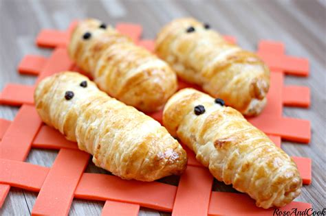 cap cuisine candidat libre les petits fantômes surimi emmitouflés facile et rapide pour cook