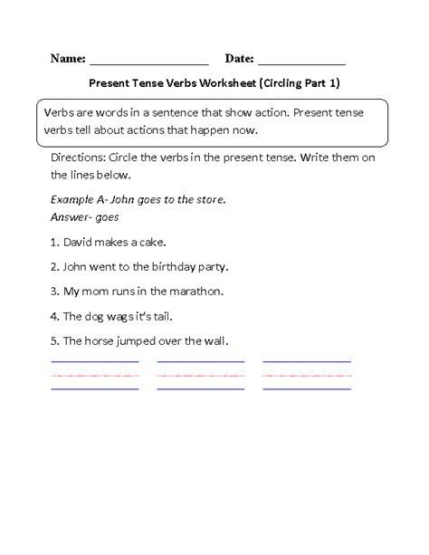 11 best images of verb tenses worksheets 1st grade 1st