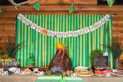 Kara's Party Ideas Dinosaur 5th Birthday Party   Kara's Party Ideas