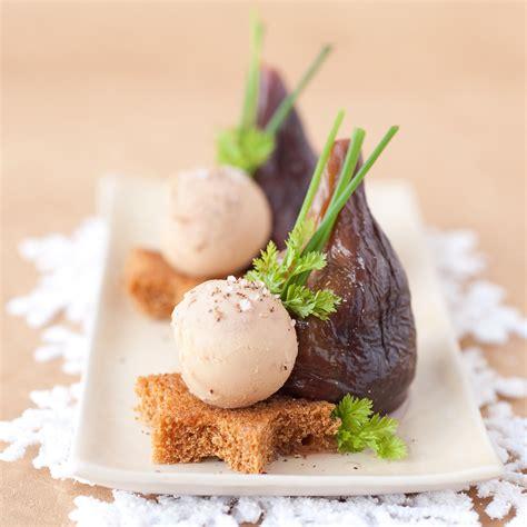 fr3 recettes de cuisine figues pochées au porto et foie gras sur d épice