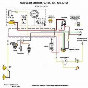 Wiring Diagram Cub Cadet 127