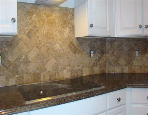 travertine herringbone backsplash kitchen ideas