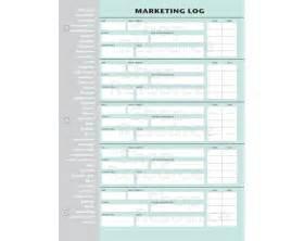 Marketing Daily Log Sheet Printable