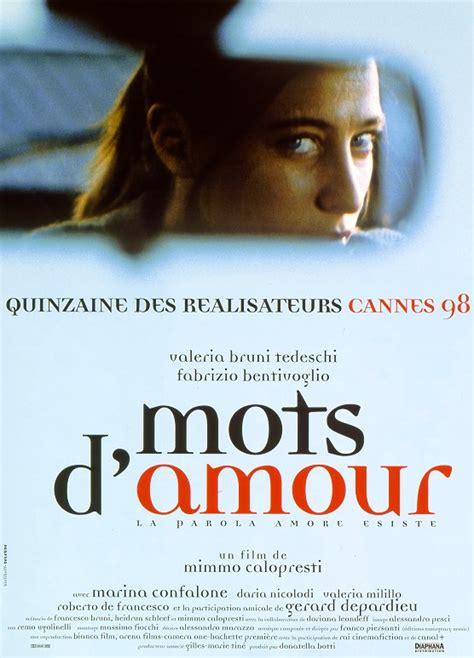 mots d amour review trailer teaser poster dvd torrent