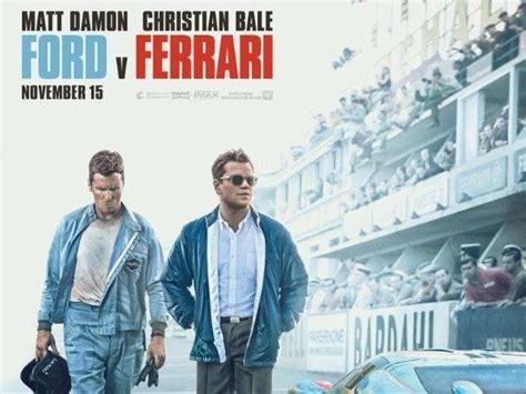 Enzo ferrari (also known as il commendatore) couldn't handle the idea. Ford v. Ferrari movie review   Ford v. Ferrari review: Christian Bale and Matt Damon make for a ...