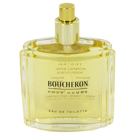 boucheron by boucheron eau de toilette spray tester 100 ml brightspark